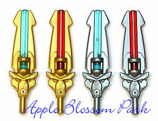 NEW Lego Lot/4 Legends of Chima ROYAL VALIOUS BLADE Minifig Sword Weapons