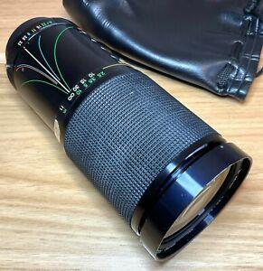 PENTAX PK-A Mount Vivitar 28-200mm f/3.5-5.3 Macro Zoom Lens - Film or Digital