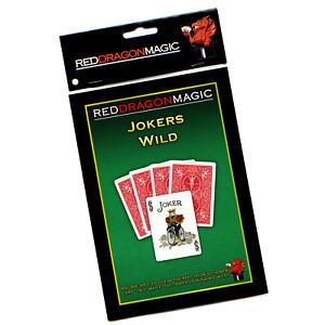 Jokers Wild - Duplicating Effect Magic Trick - Bicycle Card Stock - SEE VIDEO