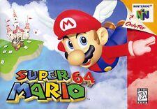 Nintendo 64 N64 Super Mario 64 Video Game Cartridge *Cosmetic Wear*