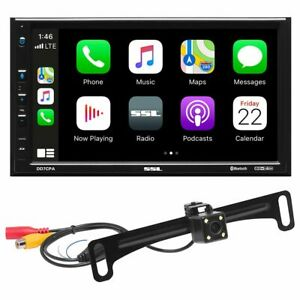 """Sound Storm DD7CPAC 7""""  2Din Fixed Receiver w/Bluetooth & Back-up Camera"""