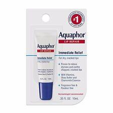 Aquaphor Lip Repair Immediate Relief Cracked Chapped Lip Balm - Paraban FREE
