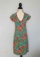 Damen KING LOUIE Blau / Mehrfarbig  Dress  Kleider Kurzarm Gr. M