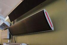 Dunkelstrahler 1800 Watt Heizstrahler Terrassen Wärmestrahler Infrarot Heatstrip