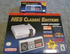 Nintendo Nes Classic Edition Mini Console System With Extra Controller Oem