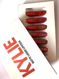 Kylie Matte Liquid Lipstick 6 Pcs  Kit Set