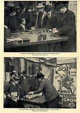 Vom Neujahrs- Spielzeugmarkt in Paris  Mechanische Wunderwerke Bilddokument 1900