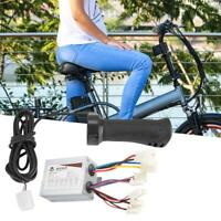 Motor Brushed Speed Controller Throttle Grip for Electric Bicycle Scooter E-bike