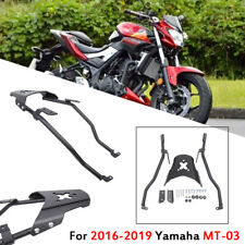 Motorcycle Rear Luggage Rack Carrier Mount Black For Yamaha MT-03 RH07 2016-2019