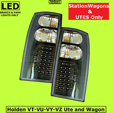 LED Black Ute Altezza Tail Lights Right Left Holden Commodore VU S SS HSV Utes