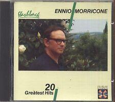 ENNIO MORRICONE - 20 Greatest hits - CD OSTGERMANY 1987 USATO OTTIME CONDIZIONI