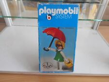 Playmobil System Female Figure with Umbrella in Box (Playmobil nr: 3345)