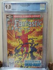Fantastic Four #233 CGC 9.0 WHITE John Byrne Cover & Art (1981) Marvel Comics