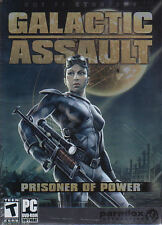GALACTIC ASSAULT Prisoner of Power PC GAME New in Box