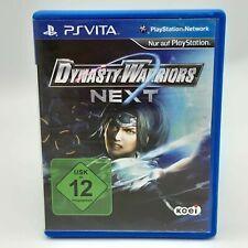 Dynasty Warriors Next SONY Playstation PS Vita jeu très bien testé