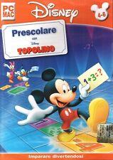 Disney - Prescolare Con Topolino PC CD-Rom