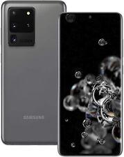 Nuevo Samsung Galaxy S20 Ultra 5G 128GB Gris SM-G988B Sim Libre Desbloqueado UK