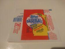 Baseball topos 1985 envoltorio