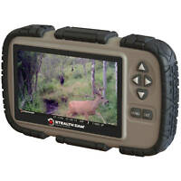 Stealth Cam SD Card Reader Viewer Photo Video Outdoor Hunting Game Trail Watcher