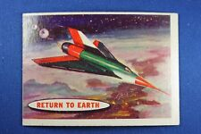 1957 Topps Space Cards - #67 Returning To Earth - VG/Ex Condition