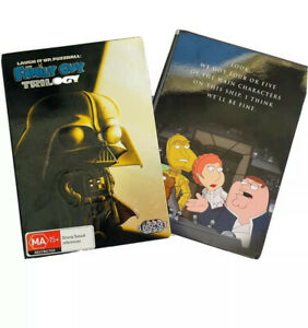 Family Guy Star Wars Trilogy Boxset - Laugh it up Fuzzball 3 DVD Gift Pack