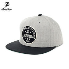 Primitive All Star Snapback Baseball Cap Hat Grey OS NWT NEW Skate Surf $32 35€