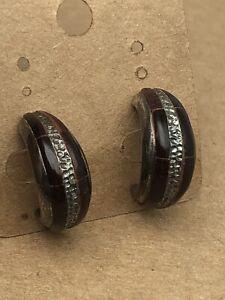 Vintage Southwestern Sterling Silver Earring