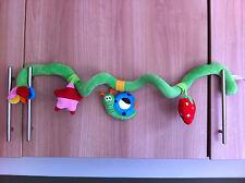 Avvolgere intorno a spirale Car Seat Childs Giocattolo/Baby Culla giocattolo morbido/giocattolo da viaggio ELC