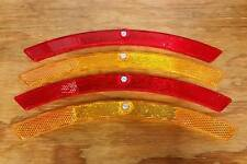 BICYCLE WHEEL REFLECTORS VINTAGE1970S USA MADE FIT SCHWINN AMF ROADMASTER OTHERS