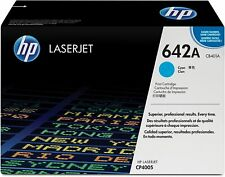 Genuine HP CB401A (642A) Cyan Toner Cartridge | FREE 🚚 DELIVERY