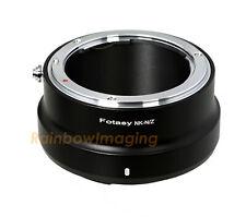 "Nikon F Mount Lens to Nikon z50 Z6 Z7 Mirrorless Camera Adapter ""US Seller"""