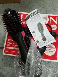 Revlon One-Step Hair Dryer and Volumizer - pink & black