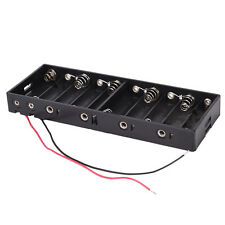 Plastic Shell Batteries Holder Box for 10 x 1.5V Aa Battery Ts