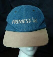 VINTAGE PRIMESTAR BASEBALL DENIM WITH SUEDE LOOK HAT CAP
