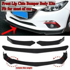 Universal Front Bumper Lip Body Spoiler Kit For Honda Civic BMW Benz Mazda GMC
