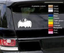 Batman cape vinyl decal