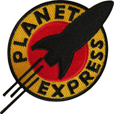Futurama Planet Express Iron On Sew On Embroidered Patch T Shirt Bag Jeans Badg