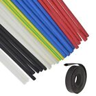 HEAT SHRINK 2:1 TUBING ELECTRICAL SLEEVING CABLE WIRE HEATSHRINK TUBE ALL COLOUR <br/> 7 Sizes 1.5mm - 13mm Red Black White Blue Clear Earth