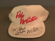 Vintage Reba McEntire Autographed Country Early Career Snap Back Concert Hat