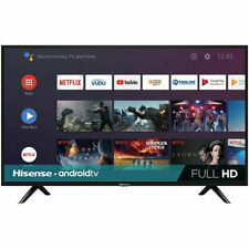 "Hisense 40H5580F 40"" Full HD LED Android Smart TV, Built-In Google Assistant"
