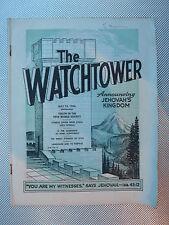 The Watchtower September Religion & Spirituality Magazines