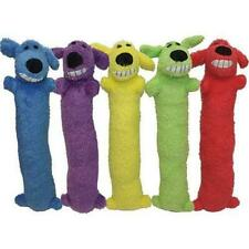Multipet Loofa Dog Plush Toy (Colors May Vary) 12-inch