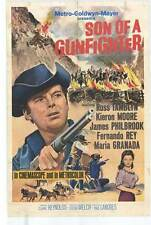 SON OF A GUNFIGHTER Movie POSTER 27x40 Russ Tamblyn Kieron Moore James Philbrook