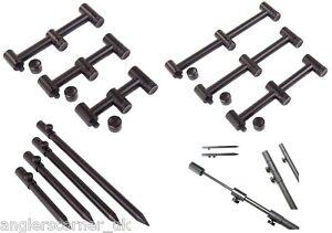 Wychwood Wide Buzz Bars & Bank Sticks / 2 or 3 Rod / Metalware / Carp / Leeda