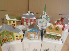 New ListingDept 56 New England Village - Original Set of 7 Buildings 1986 - 1989