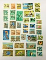 43 x Tanzania Postage Stamps Used