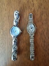 Lot Of 2 Womens Wristwatches, Gruen And Timex