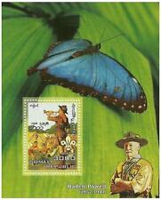 BUTTERFLY BADEN POWELL LEADER OF SCOUT MOVEMENT SOMALI 2006 MNH STAMP SHEETLET