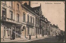 Belgie, Belgique. St-NICOLAAS, STATIESTRAAT. Liege, Luik. Viaggiata nel 1910