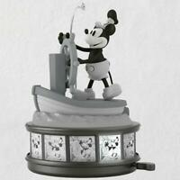 2018 Hallmark Keepsake Ornament Steamboat Willie Mickey Mouse 90th Anniversary